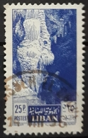 LÍBANO 1955 Cedar Of Lebanon And Jeita Grotto. USADO - USED. - Libanon