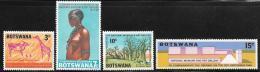 Botswana, Scott # 43-6 MNH National Museum And Art Gallery, 1968 - Botswana (1966-...)