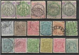 _3Rv-384 Restje Van 14 Zegels..BRITISH SOUTH AFRICA COMPAGNY..  Om Verder Uit Re Zoeken.. - África Del Sur (...-1961)