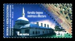 Bosnia And Herzegovina 2018 Mih. 732 Karadoz-begova Mosque In Mostar MNH ** - Bosnie-Herzegovine
