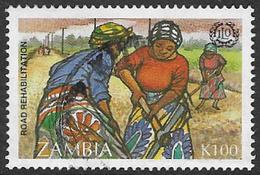 Zambia SG743 1995 75th Anniversary Of International Labour Organization 100k Good/fine Used [37/30801/2D] - Zambia (1965-...)