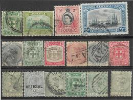 _3Rv-379 Restje Van 16 Zegels.. ..  Om Verder Uit Re Zoeken.. - Jamaica (...-1961)