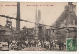 Cp Hénin- Liétard - Mines De Dourges - La Fosse Mulot N°3 - Other Municipalities