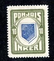 W6584  Nordingermanland 1919  Scott #8* Genuine- Offers Welcome - 1919 Occupation Finlandaise