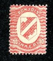 W6587  Nordingermanland 1919  Scott #2* - Offers Welcome - 1919 Occupation Finlandaise