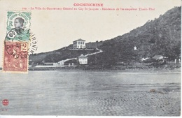 FRENCH  INDO-CHINE  CAP ST. JACQUES  LAOS  To  FRANCE - Indochina (1889-1945)