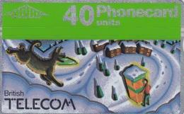 Phonecard British Telecom Winter Landscape (DD19-11) - United Kingdom