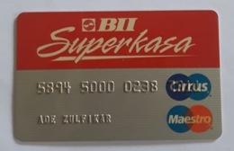 Indonesia Creditcard - (MAESTRO) BII Superkasa (Used) - Credit Cards (Exp. Date Min. 10 Years)