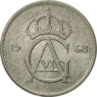 Monnaie, Suède, Gustaf VI, 25 Öre, 1968, TTB, Copper-nickel, KM:836 - Suède