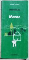GUide Vert Michelin Maroc 1988 - Michelin (guides)