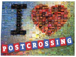 (950) I Love Postcrossing Postcard - From Germany - Cartoline