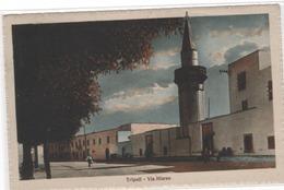 Cp  TRIPOLI , Via Misran  , 1928  (b26/27) - Libye