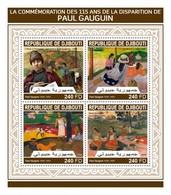 Djbouti 2018 Art Painting  Paul Gauguin S201804 - Djibouti (1977-...)