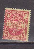 REUNION        N°  YVERT   TAXE 6  NEUF SANS GOMME        ( SG  016 ) - Réunion (1852-1975)