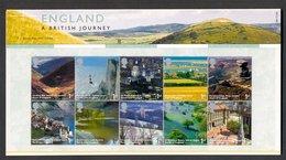 Nbd0121b TOERISME A BRITISH JOURNEY TOURISM LIGHTHOUSE MOUNTAINS CHURCH BOAT GREAT BRITAIN 2006 PRESENTATION PACK PF/MNH - Vakantie & Toerisme