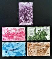 EGYPTE TOMBEAU DES ENVAHISSEURS 1957 - NEUFS ** - YT 399/03 - MI 511/15 - Egypt