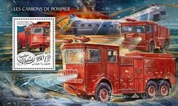 Djbouti 2018 Fire Engines  S201804 - Djibouti (1977-...)