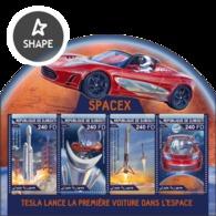 Djbouti 2018  First Car In Space S201804 - Djibouti (1977-...)