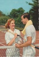 18 / 5 / 343  -  CPM  COUPLE  AU  TENNIS - Tennis