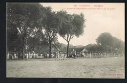 SAIGON -COCHINCHINE - 11° Régiment D'Infanterie Coloniale Défilant Le 14 Juillet- Recto Verso- Paypal Sans Frais - Vietnam