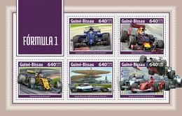 Guinea Bissau 2018  Car  Formula 1S201804 - Guinea-Bissau