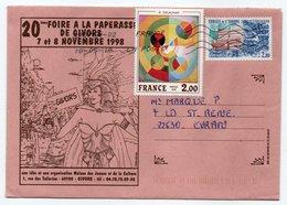 Enveloppe FRANCE Oblitération LA POSTE 39875-02 18/05/2018 - Postmark Collection (Covers)