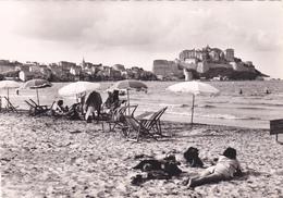 La Corse ,ile De Beauté,la Plage De CALVI ,touristes Heureux,carte Photo Miramont - Calvi