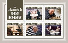 Guinea Bissau 2018  Chess   Garry Kasparov S201804 - Guinea-Bissau
