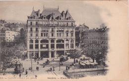Genève : Place De Bel-Air - Carte Précurseur - GE Genève