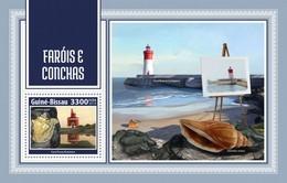 Guinea Bissau 2018   Lighthouses And Shells 1S201804 - Guinea-Bissau