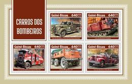 Guinea Bissau 2018   Fire Engines 1S201804 - Guinea-Bissau