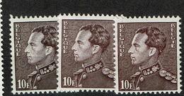 848A + Aa + Ab  **  20.25 - 1936-51 Poortman