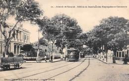 Bresil . N° 47457 . Avenida De Nazareth.tramway...editores Tavares Cordoso.para - Belém