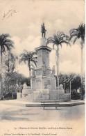 Bresil . N° 47467 . Estatua Do General Gurjao . Editores Tavares Cordoso.para - Belém