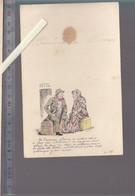Menu - 15 Janvier 1890 - Illustration Humoristique Crise Logement Exposition Universelle  Paris 1889 - Menu