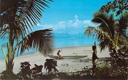 Polynésie Française La Plage De PUNAAUIA  (A)  (Photo Afo Giau    )* PRIX FIXE - Polynésie Française