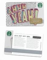 Starbucks Card - Canada - AHHH YEAH - 6113 Mint Pin - Gift Cards