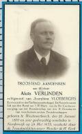 Bp    Verlinden     Vloeberghs    Westmeerbeek    Noorderwijk - Images Religieuses