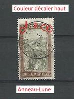Variétés 1908  N° 96 MADAGASCAR ET DEPENDANTES RF 1C OBLIT DOS CHARNIERE - Madagascar (1889-1960)