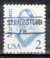 USA Precancel Vorausentwertung Preo, Locals Pennsylvania, Strausstown 895 - Vereinigte Staaten