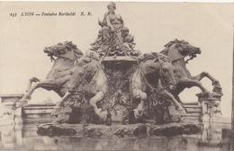 CPA 69 LYON Fontaine Bartholdy - Lyon 1