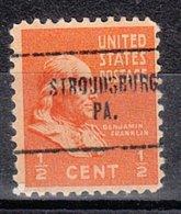 USA Precancel Vorausentwertung Preo, Locals Pennsylvania, Stroudsburg 704 - Vereinigte Staaten