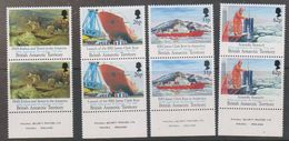 British Antarctic Territory 1991 200th Anniversary M. Faraday 4v (pair) ** Mnh (38827A) - Brits Antarctisch Territorium  (BAT)
