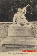 CPA 13 : MARSEILLE - SAINT LOUP - SOUVENIR D'INAUGURATION AUX ENFANTS MORTS POUR PATRIE 30 OCTOBRE 1921 - éd Llorca - Marseilles