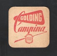 OUD Bierviltje - Sous-bock - Bierdeckel : GOLDING CAMPINA (B 337) - Bierviltjes