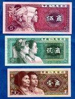 Chine / Lot De 3 Billets - Chine