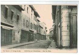 20809   CPA  CHATILLON SUR CHALARONNE  :  Rue De L' Ecu ! Précurseur  Non Utilisé !  ACHAT DIRECT !! - Châtillon-sur-Chalaronne