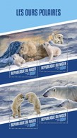 NIGER 2018 Polar Bears S201804 - Niger (1960-...)