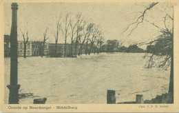 Middelburg; Gezicht Op Noordsingel (Overstroming) - Niet Gelopen. (Altorffer - Middelburg) - Middelburg