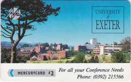 Paytelco, PYU008, Universities & Colleges, Exeter University - Conference Needs 1, 2 Scans.  1PEXA, Paytelco On Back - United Kingdom